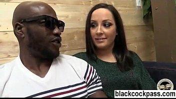 Black monster cocks and a white slut