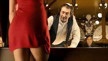 vica kerekes fine cleavage and underpants.