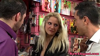 stealing eurobabe dual pounded in store