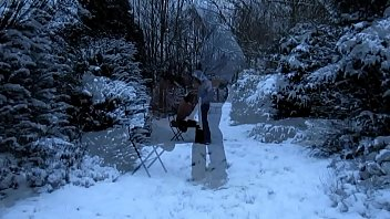 cedille ou la rod des neiges entre chiens.
