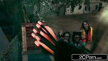 zombie apocalypse survivors have 4some - peta jensen.