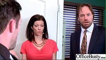 (Olivia Austin) Big Tits Sluty Girl In Hardcore Sex In Office clip-23