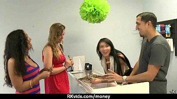 fledgling chick enjoys to deepthroat manhood for money 14