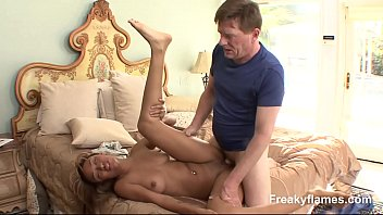 Lovely juicy cooter of Teen is waiting wide open to get fat stiff penetrate it