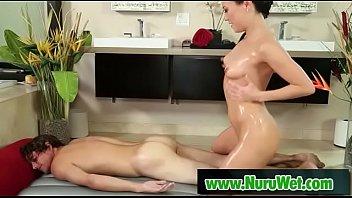 Asian masseuse nailed deep in nuru wet massage 02