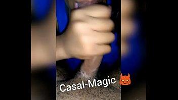 sra magic chupando