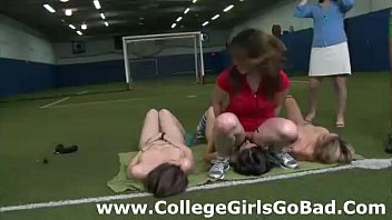 sorority unexperienced chicks gobble honeypot at.