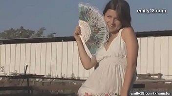 Emily18 - Teenage girl on the farm