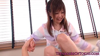 youthfull japanese beauty gets an unwanted.