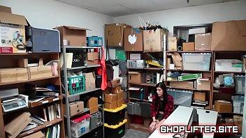 interrogating spilled ditzy shoplifting teenager