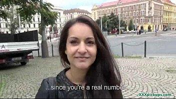 euro nubile stunner get her vulva penetrated outdoor.