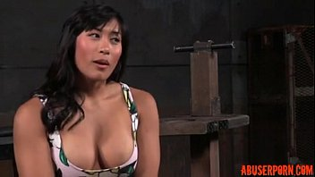 Shackled Asian Slut'_s Pussy and Mouth Used: Free HD Porn d5 - abuserporn.com