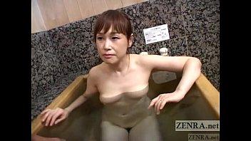 pallid japanese wifey secret av bathing soapy hj subtitled