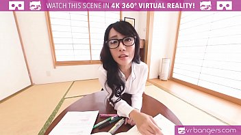 VRBangers.com Young Japanese Gets Penetrated by a Big Dick and Creampied
