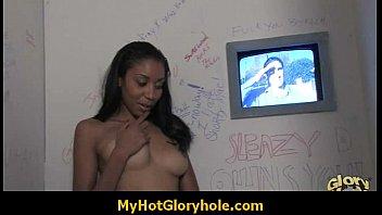 Learn the art of gloryhole cock sucking 18