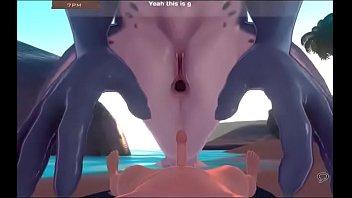monster doll island shark fuckending2