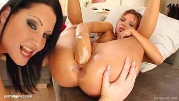 Suzie Carina and Belicia in fisting lesbian scene by FistFlush
