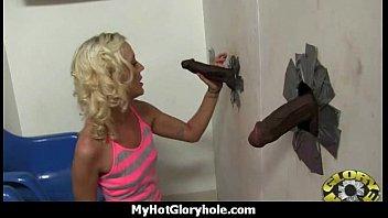 Gloryhole blowjob interracial amateur 24