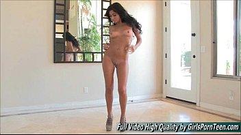 Ariane II solo sexy hot brunette dance