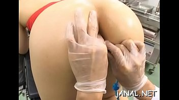 Cute japan hottie face holes hard in advance of being anal fucked