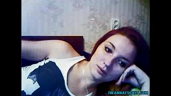 fabulous ginger-haired honey taunts on her live web cam