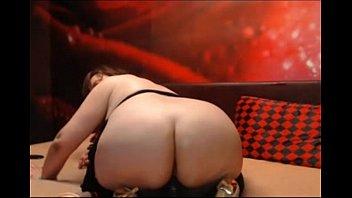 3410621 mature bbw with big ass rides dildo on webcam