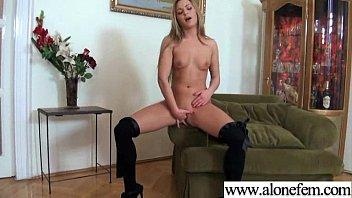 Cute Amateur Teen Girl Masturbating clip-04
