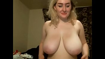 phat titties silver-blonde lady web cam.