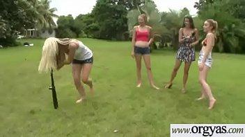 nikki bell sluty sumptuous chick pummeled on camera.