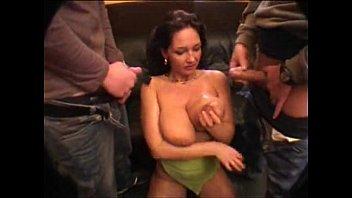 Big tits Milf Gangbang (name)  www.beeg18.com