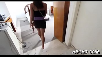 A horny dude gives this sexy asian honey the hottest fucking