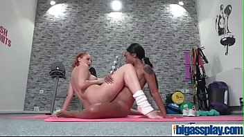 interracial lezzies perspiring gym sexeva berger amp_ lola.