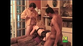 french cougar in supah hot dark-hued undergarments humped.