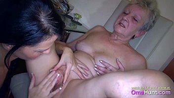 katie makes grannie spunk for her