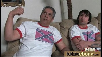 Interracial groups sex with black chick and white dudes 18