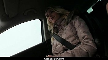 Car sex teen hitchhiker hardcore pounded 6