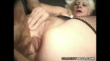 Barbie Face Granny Does Anal With Big Cock
