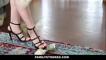 nice step sista tempts brother with lapdance -hd.