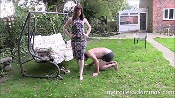Mistress Zoe Dirty Feet - Clean My Feet Slave!