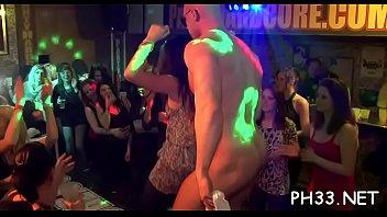 cheeks in club ravaged unwrap dancer