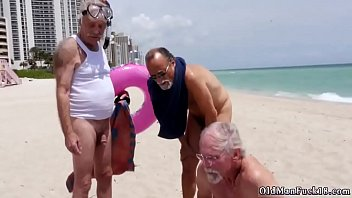 Teen old man Staycation with a Latin Hottie
