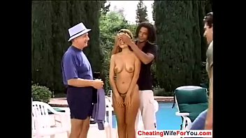 wifey humped by spouse and his.