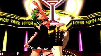 MMD GUMI No Panty Dance