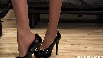 Goddess milf shoe fetish high heels video