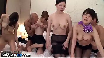 Japanese hostess hardcore orgy - Full at Elitejavhd.com