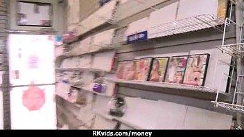 inexperienced lady enjoys to deepthroat bone for money ten