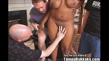 desiree fat-boobed ebony dame running in streams in.
