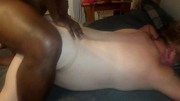 plumper wifey boinked by good-sized ebony.