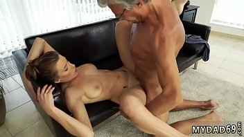 Teen loves old cock Sex with her boyally&acute_s father after swimming pool