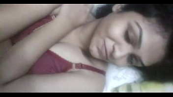Indian Young Cute bhabi naked selfie video in bed to lover - Wowmoyback